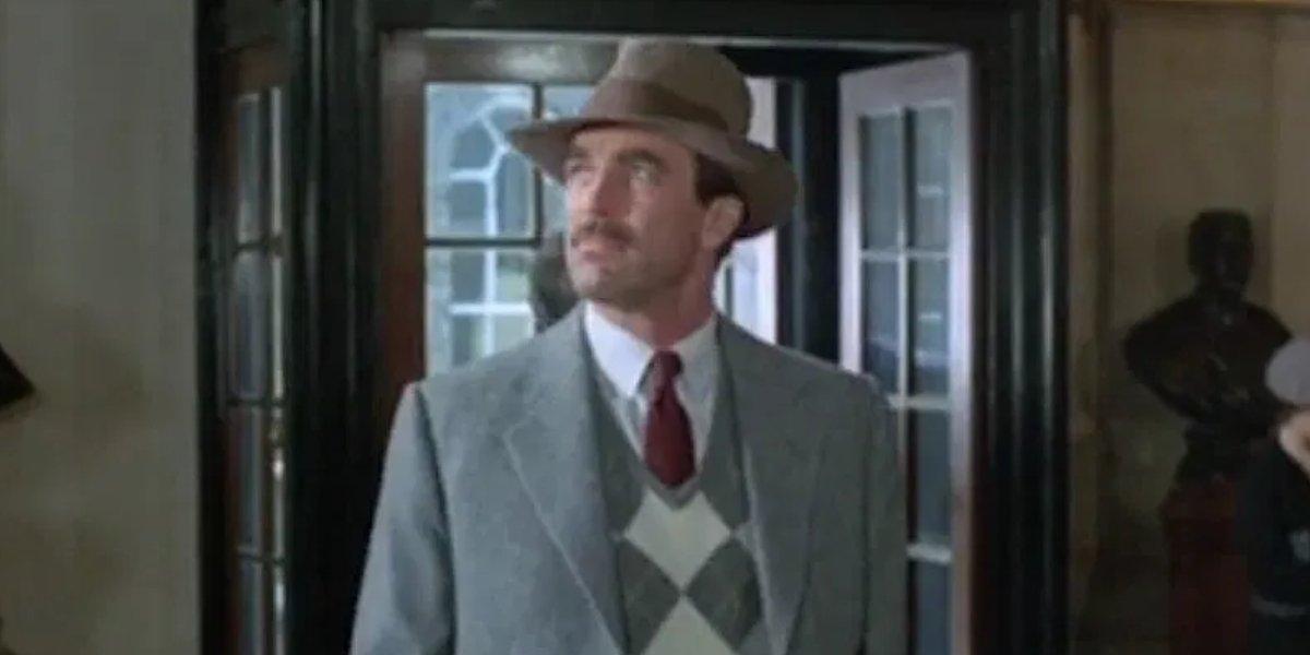 Potential Indiana Jones star Tom Selleck in Lassiter