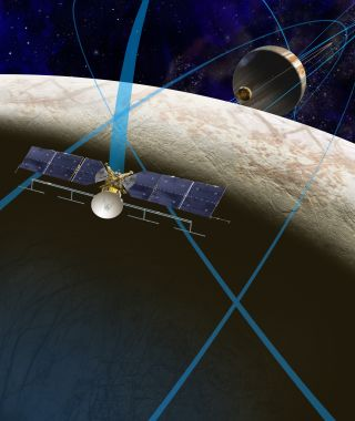Artist's Concept of Europa Clipper Mission Image