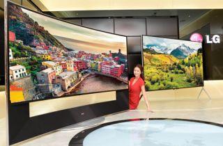 lg 105 inch 21 9 curved led tv leads 2014 4k line up what hi fi