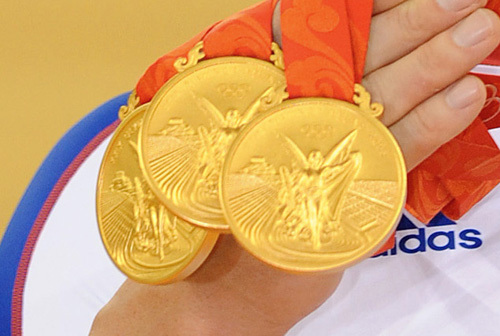 Olympic gold medals 2008