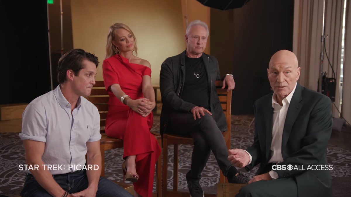 'Star Trek: Picard' Actors Reminisce About Their First Trek Experiences