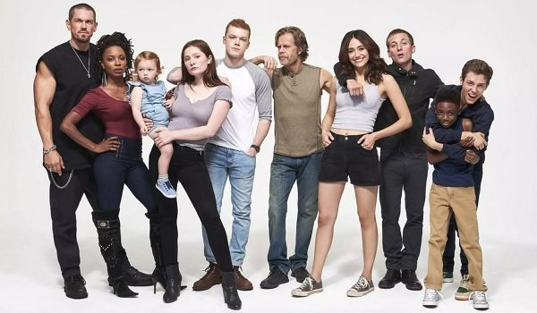 Shameless Cameron Monaghan William H. Macy Emmy Rossum The Gallagher family line-up