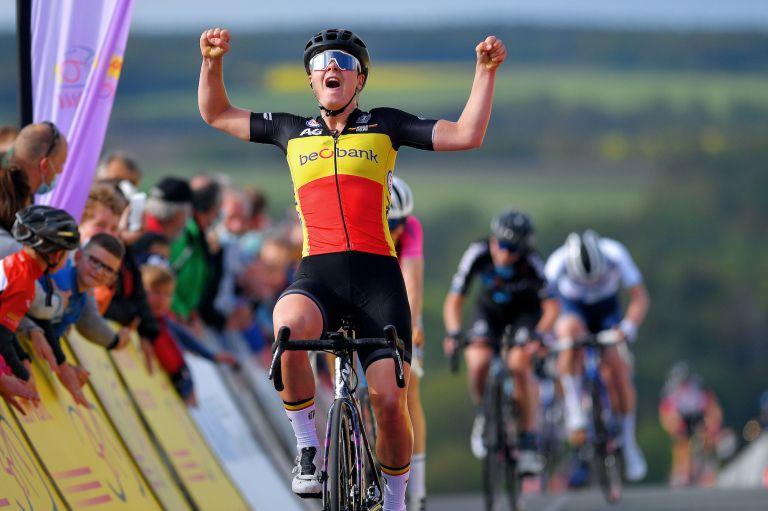Lotte Kopecky wins LOTTO Thüringen Ladies Tour 2021 - Stage 4