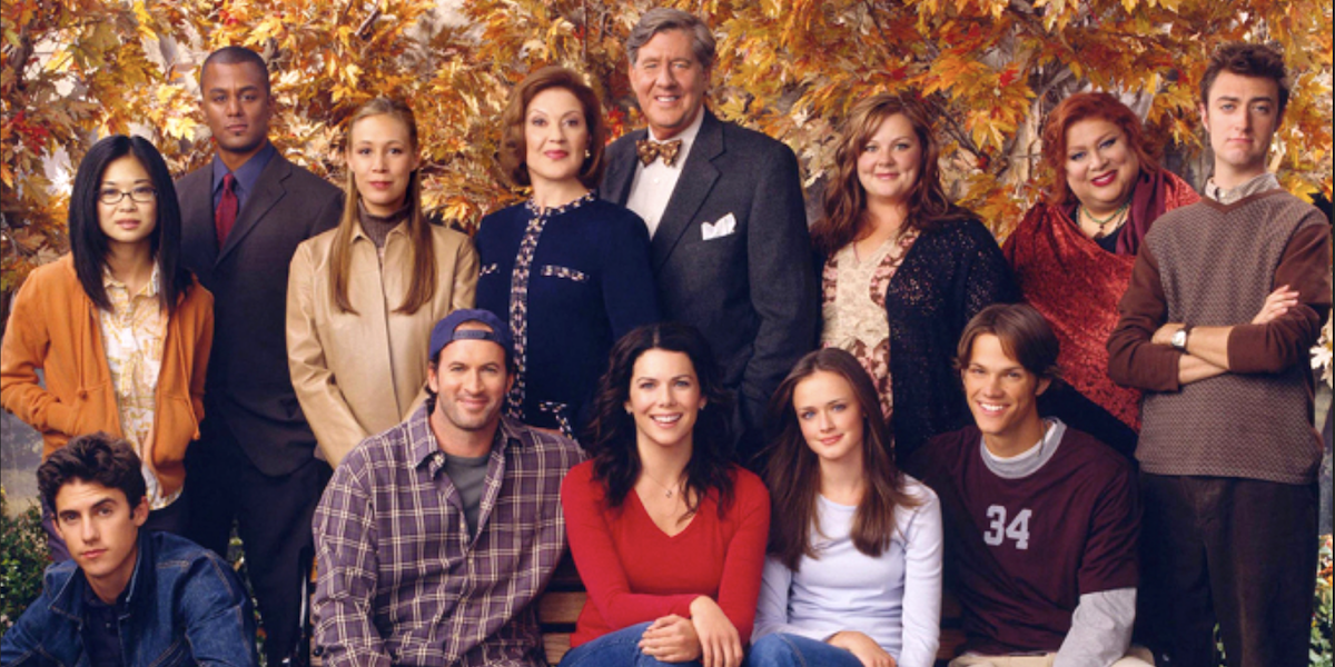 gilmore girls cast the wb
