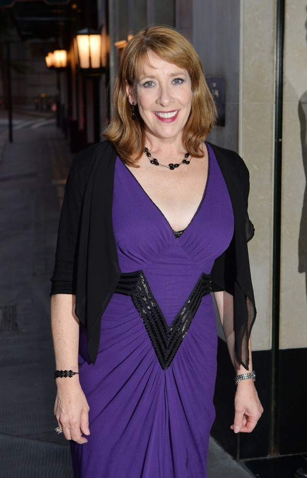Phyllis Logan at the wrap party for ITV's Downton Abbey