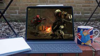 XCOM 2: War of the Chosen on iPad