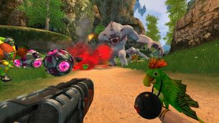 Whatever the hell is going on in Serious Sam 2