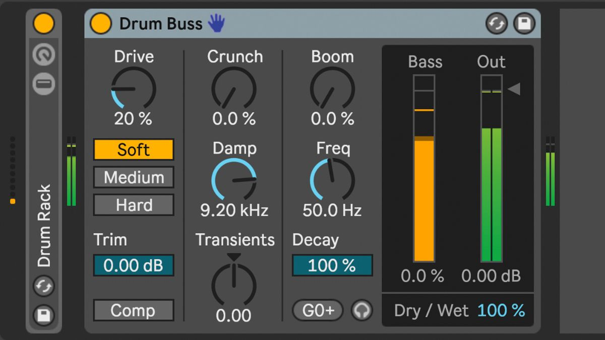 Ableton Live 10's new Drum Buss device deconstructed