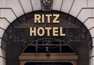 Inside the Ritz Hotel
