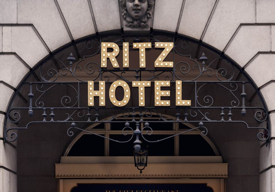 Inside the Ritz Hotel