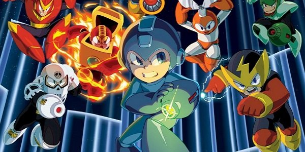 Mega Man and Robot Masters