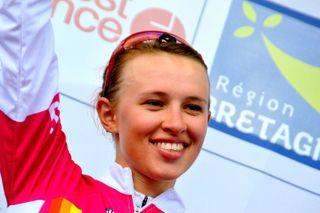 Best young rider Katarzyna Niewiadoma