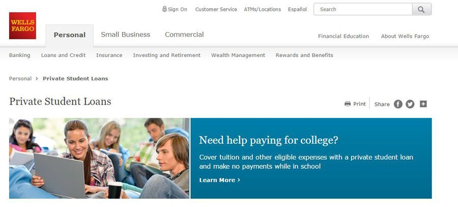 Wells Fargo Student Loan Review - Pros and Cons | Top Ten