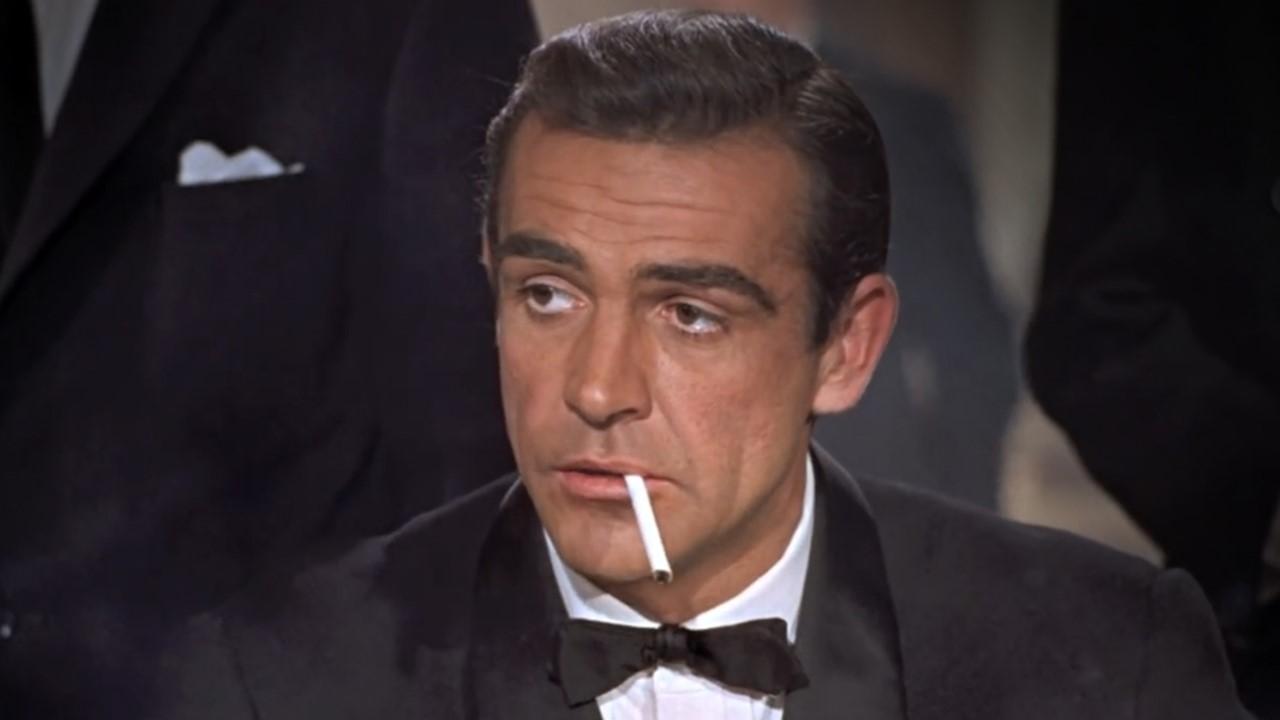 Sean Connery as James Bond.
