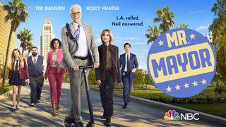 Key art for NBC's Mr. Mayor