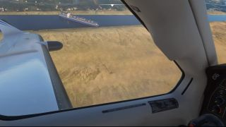 Suez Canal on Microsoft Flight Simulator