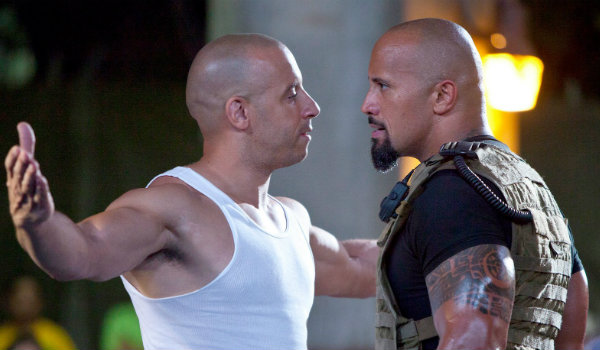 Fast Five Vin Diesel The Rock