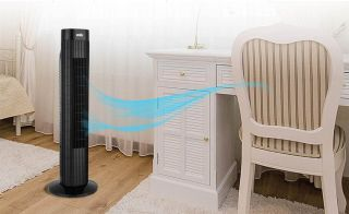 Fight the heatwave with the ANSIO Tower Fan