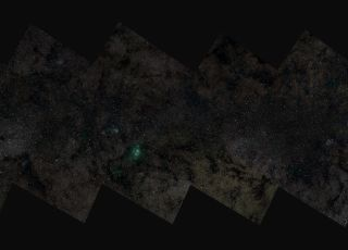 Largest Image of the Milky Way