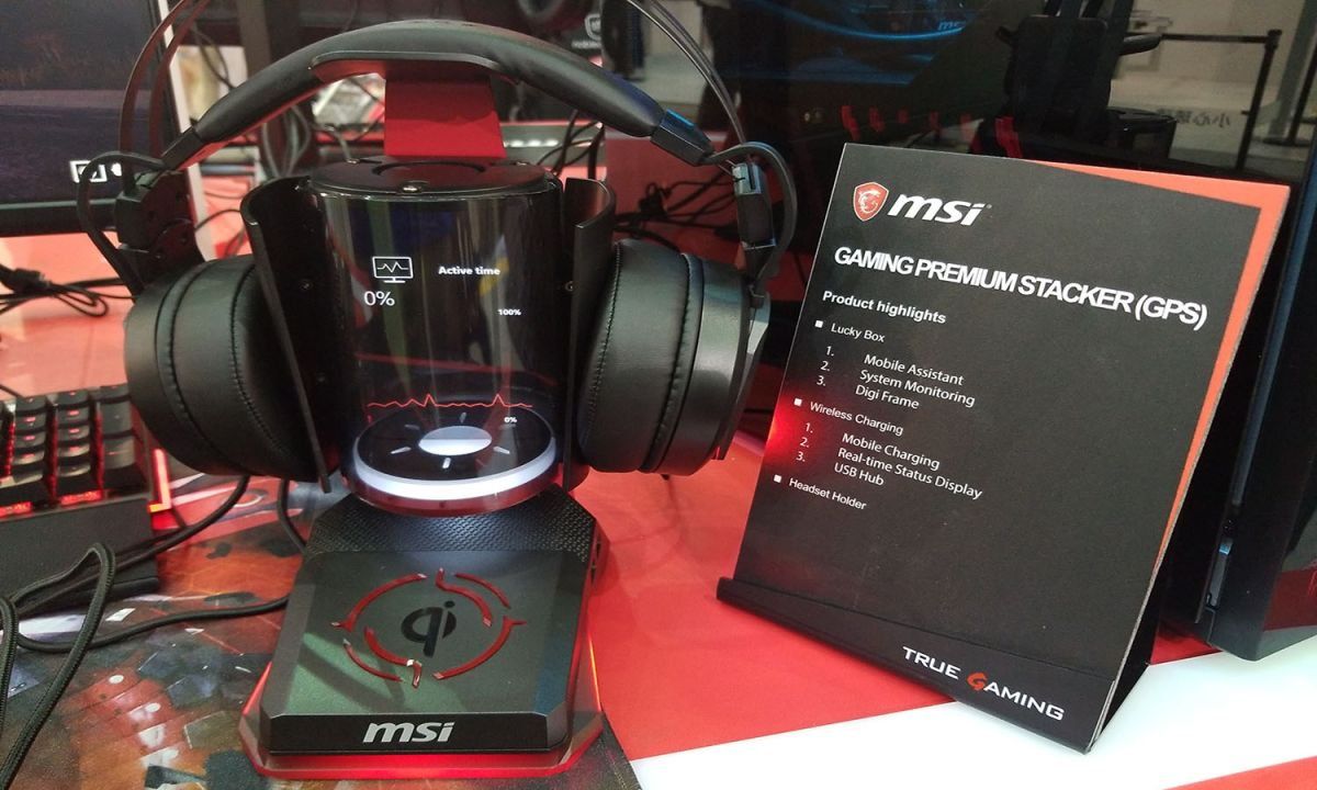 MSI Made a Tiny Dragon Hologram and I Want It Now | Tom's Guide