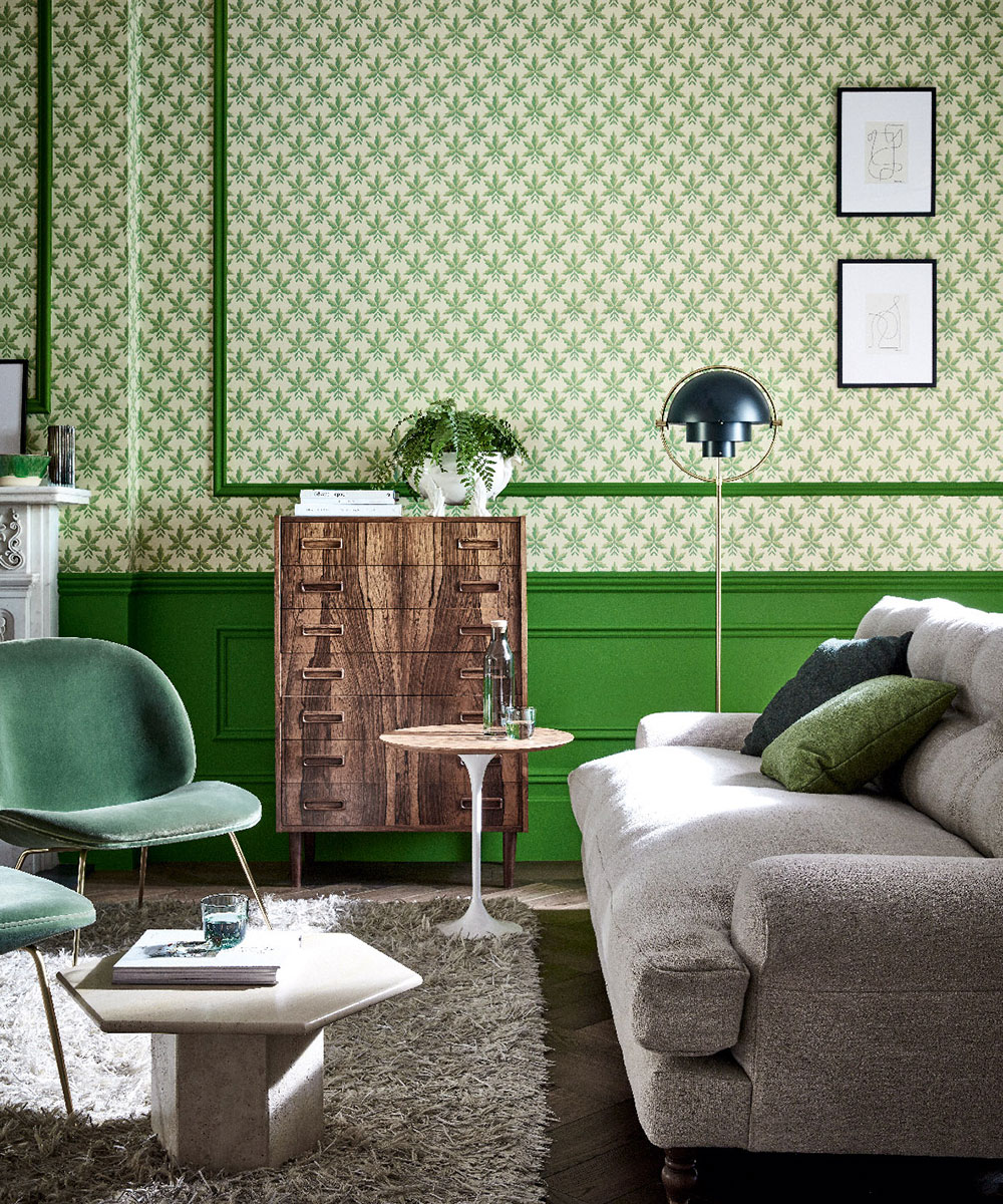 Little Greene announces its latest collaboration, 'National Trust Papers', an eclectic collection of wallpapers