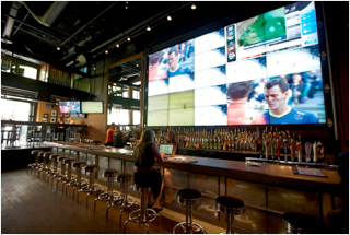 Advanced Installs 5x5 Videowall at Jack Astor's