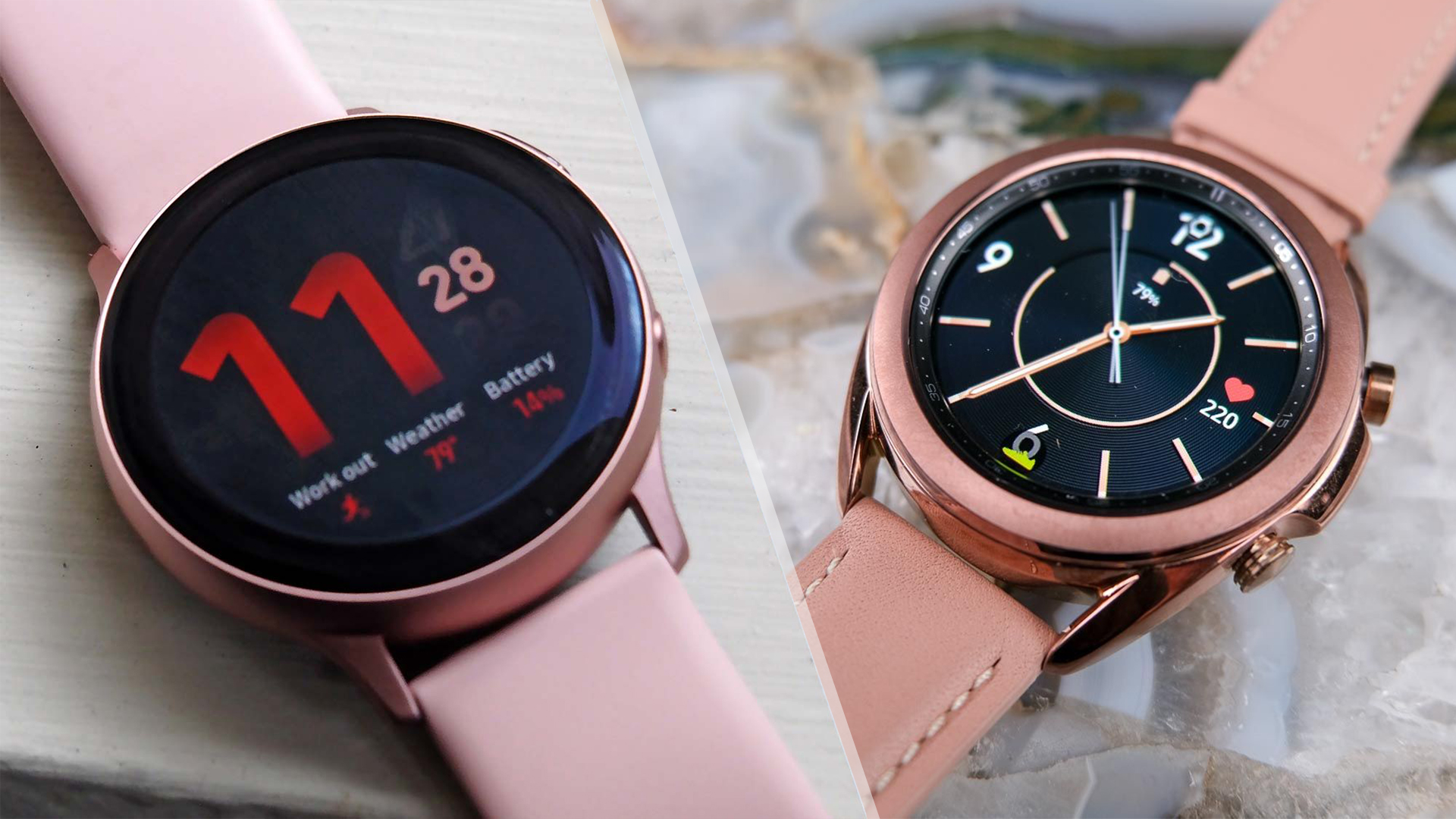 Samsung Galaxy Watch 3 Vs Galaxy Watch Active 2 The Biggest Upgrades You Ll Get Tom S Guide