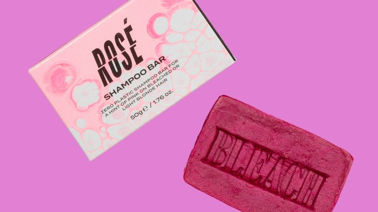 Bleach London Rose Shampoo Bar