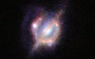 Merging Galaxies in a Distant Universe 1920