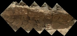 'Missoula' Rock Outcrop on Mars
