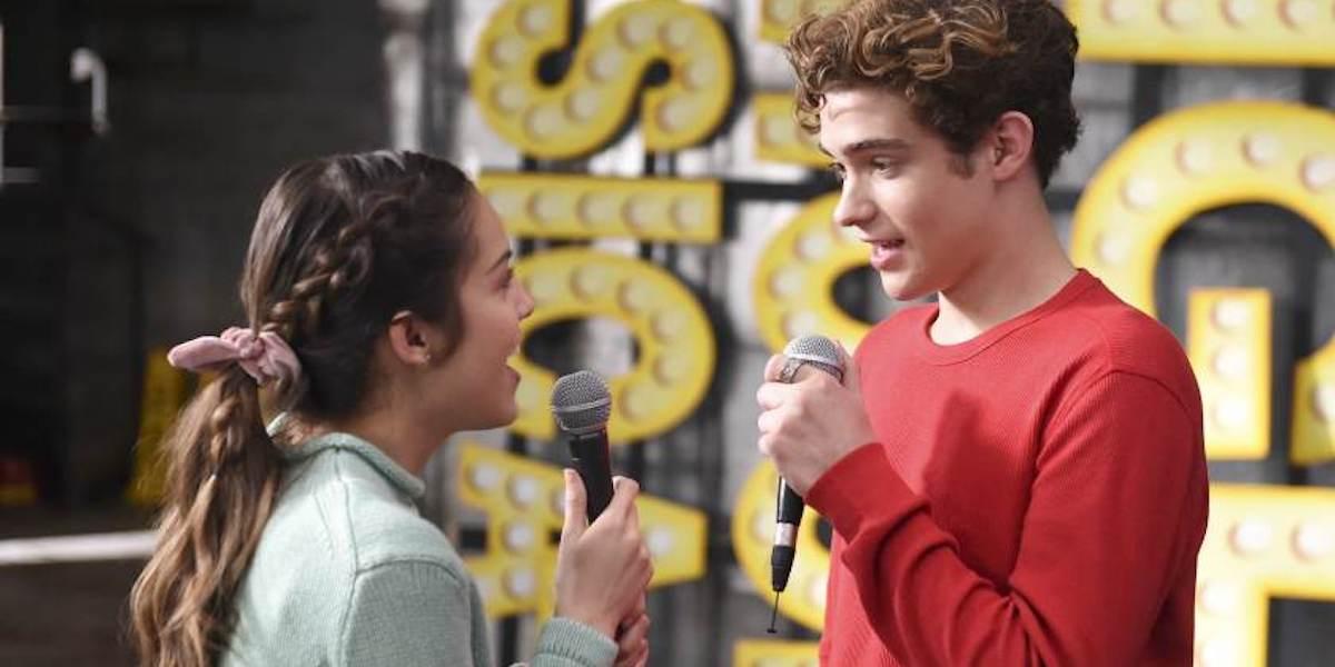 Olivia Rodrigo and Joshua Bassett as Nini and Ricky in High School Musical series