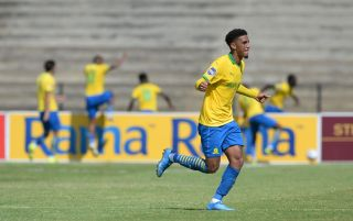 Rushine de Reuck of Mamelodi Sundowns