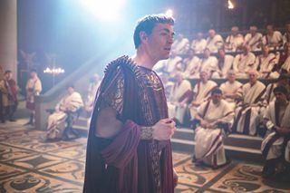 Matthew McNulty stars as the Roman Empire's first Emperor, Augustus.