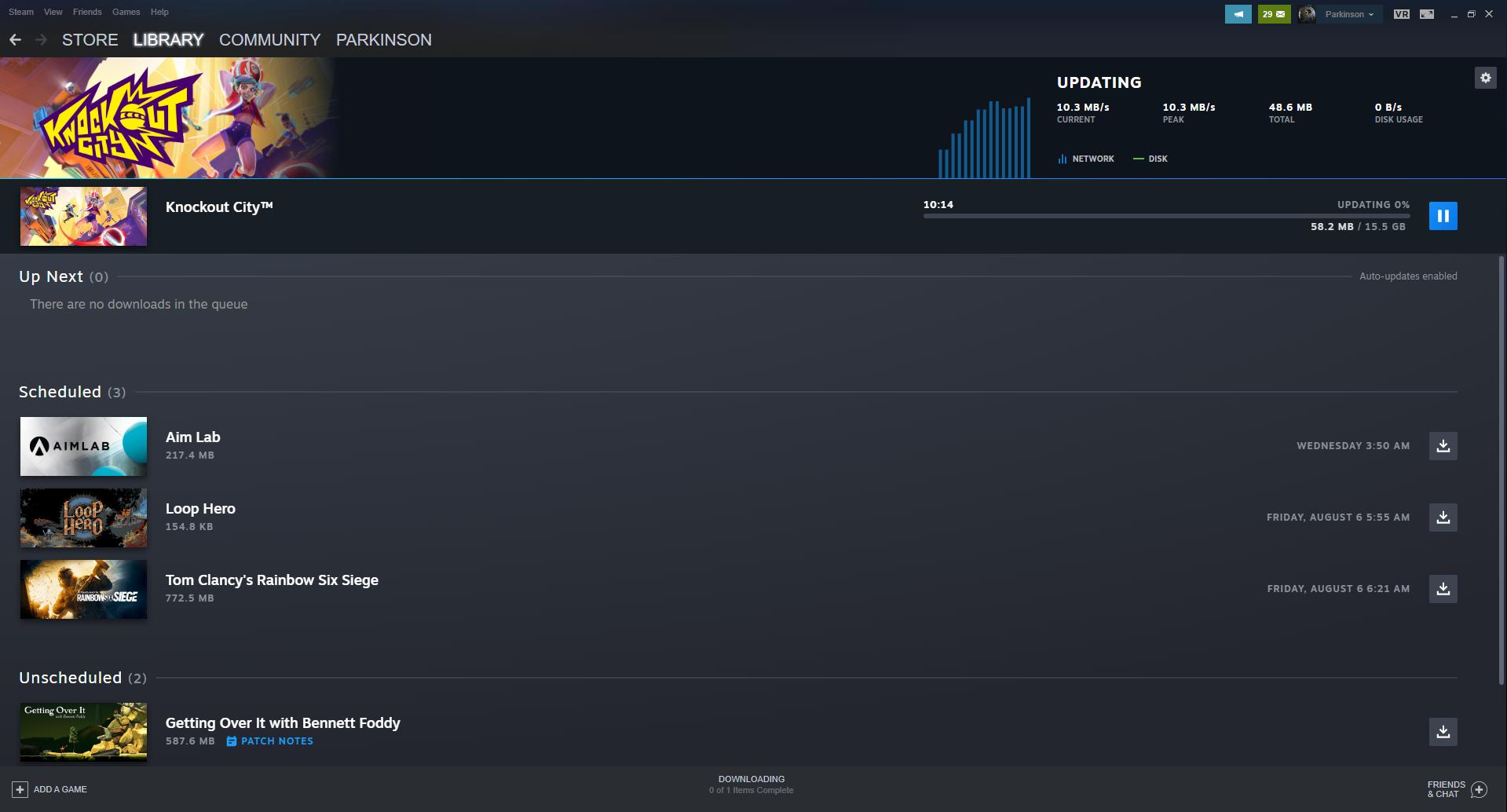 Steam Client Beta update