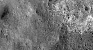 Mars Rover Tracks Jan. 2, 2013