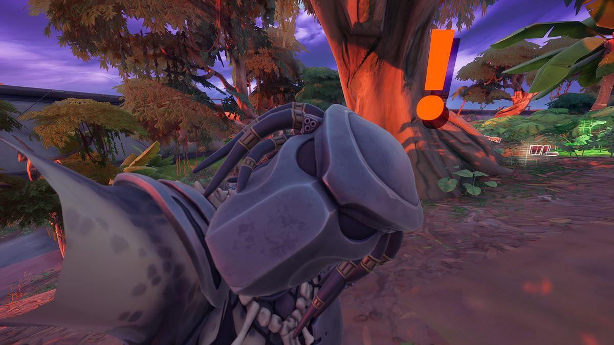How to hunt the Predator in Fortnite