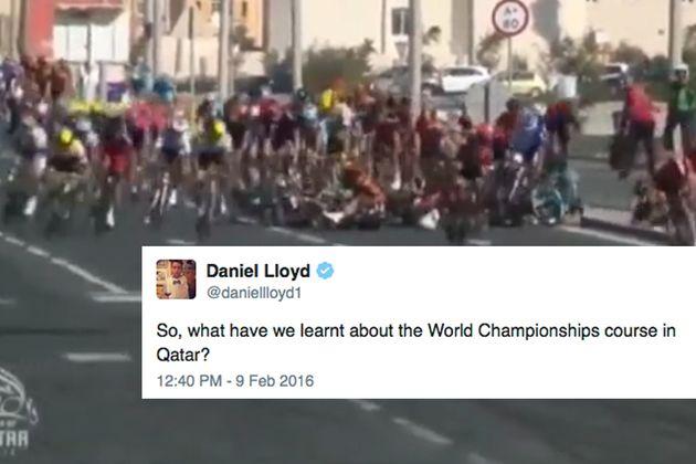Twitter reacts Qatar crash