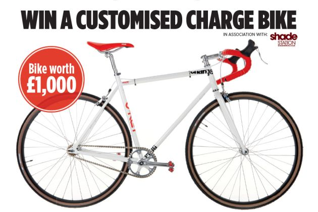 Win a customised Charge bike