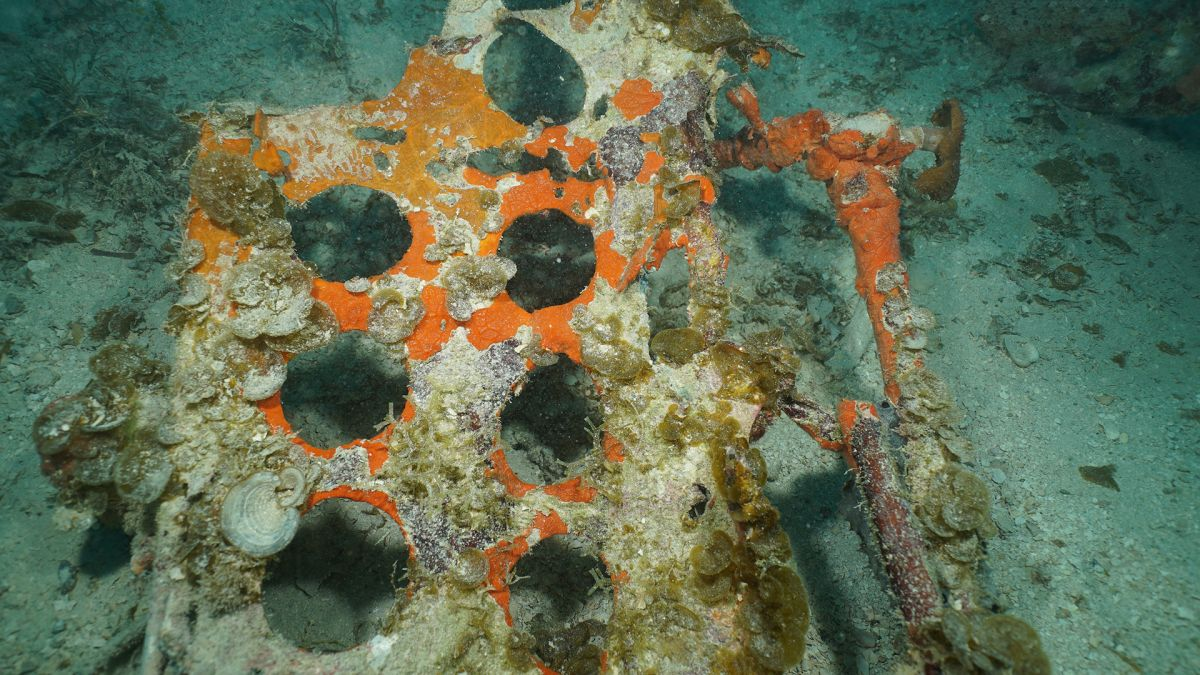 Wreckage of lost American WWII planes finally found, in a Pacific lagoon