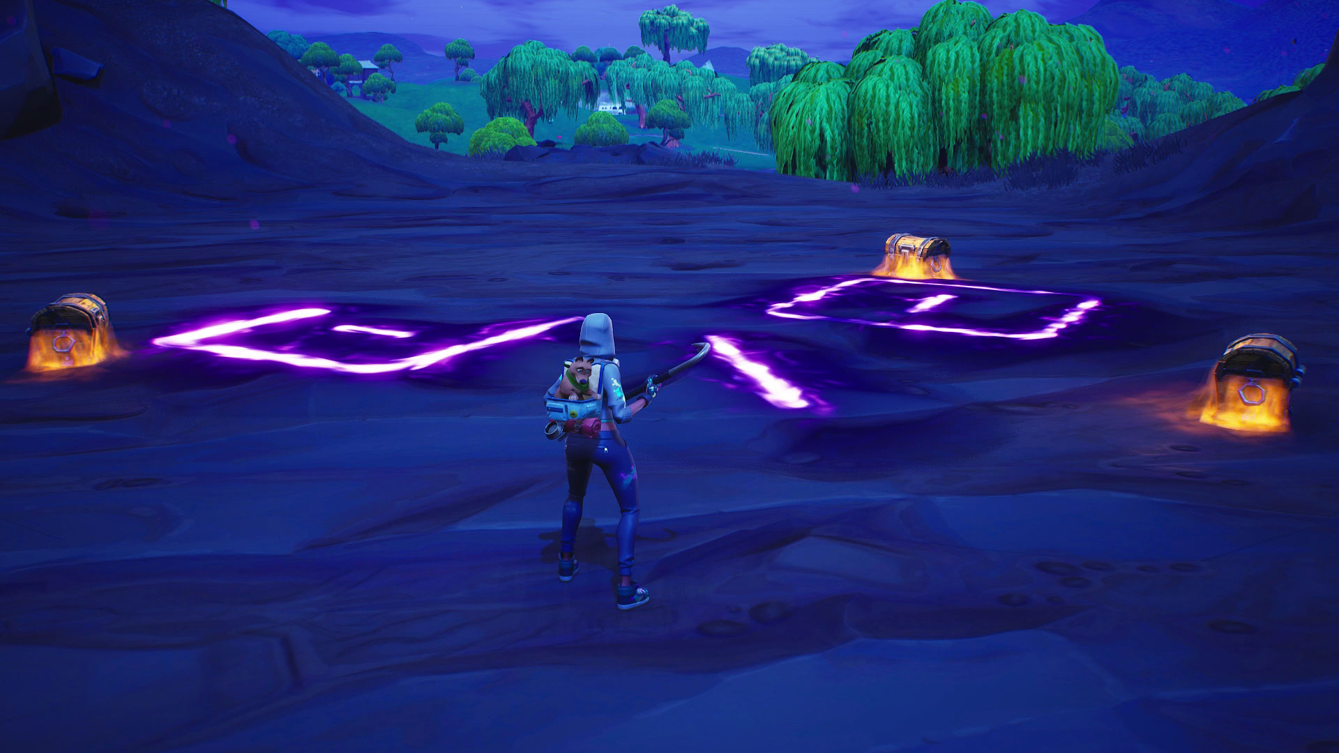 Fortnite Corrupted Areas - where to find them and how to