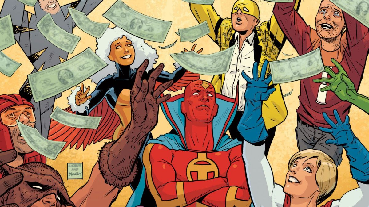 DC goes for the laughs in One-Star Squadron