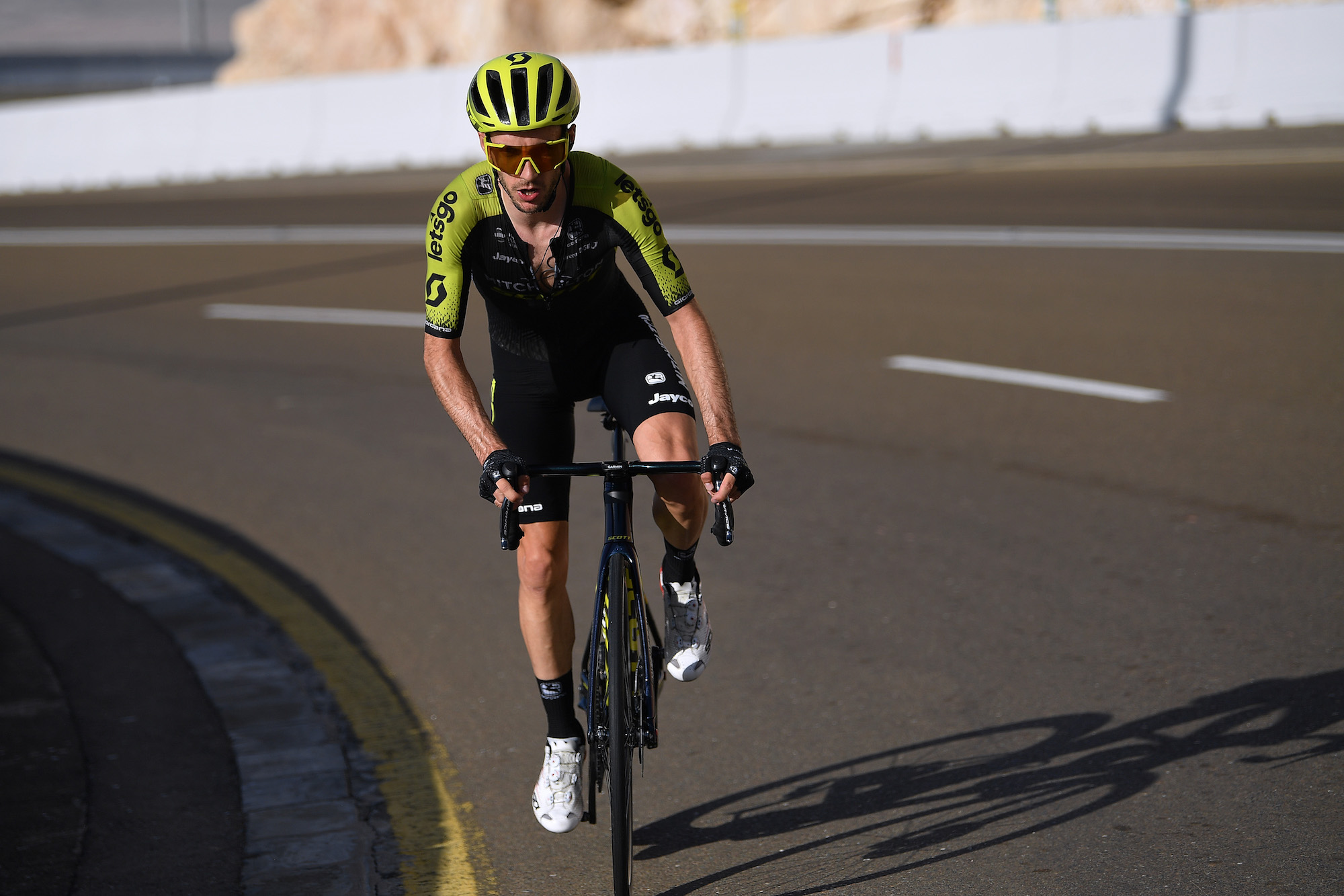 Adam Yates annihilates the field on Jebel Hafeet during stage three of the UAE Tour 2020 - Cycling Weekly