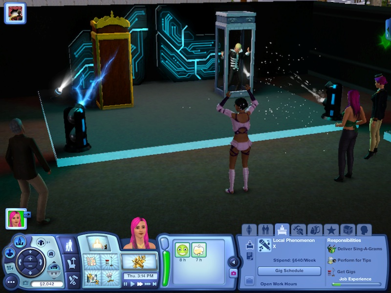 The Sims 3 Showtime Expansion Pack Review: Music, Magic And Acrobatics #21040
