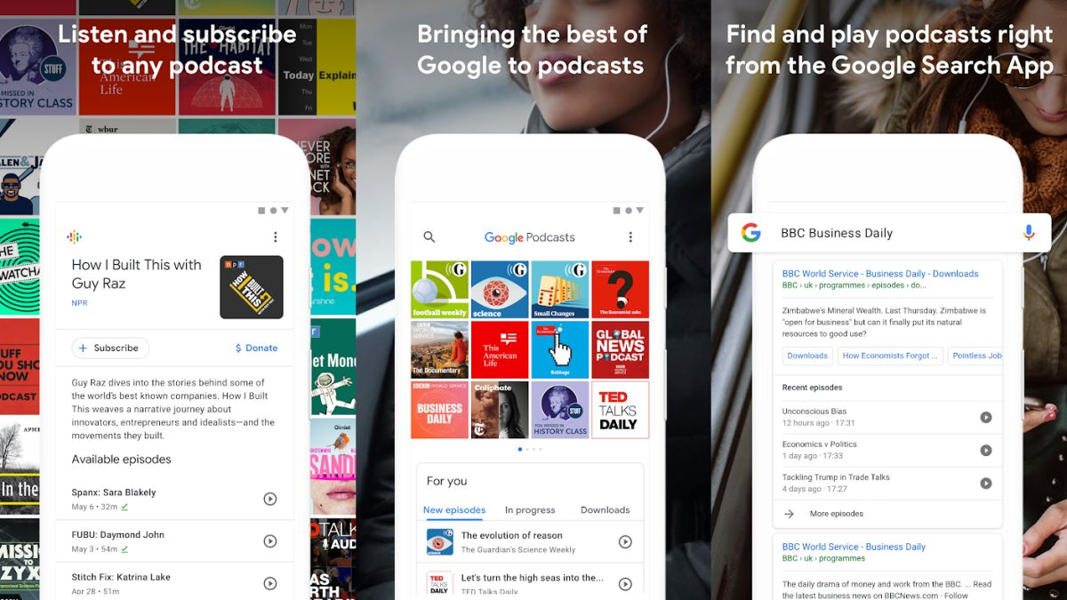 Google's new podcast app pours personal recommendations directly into your ears