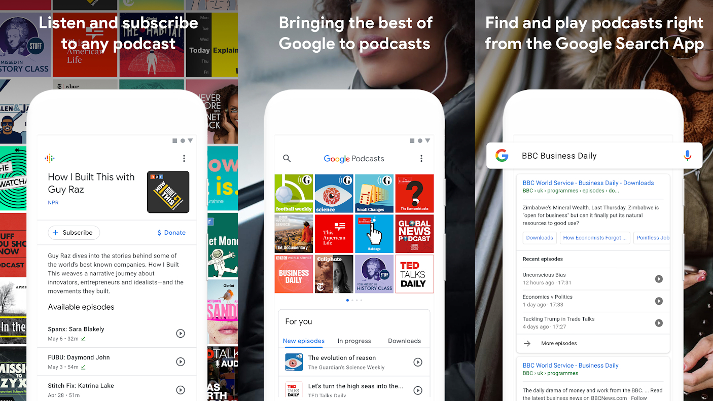 Google's new podcast app pours personal recommendations