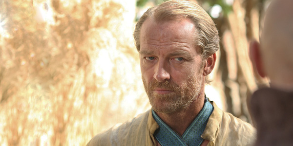Jorah Mormont in Season 2 of Game of Thrones