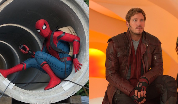 Star-Lord and Spider-Man