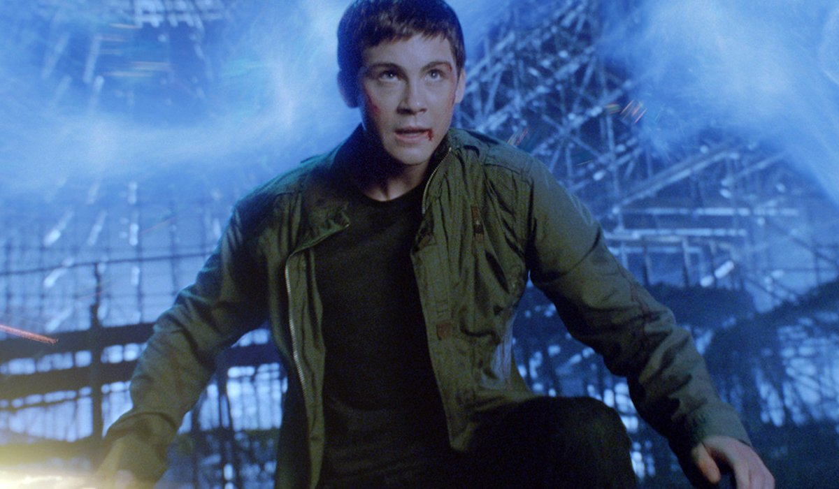 Logan Lerman in Percy Jackson
