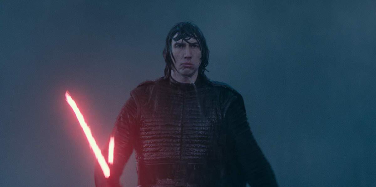 Adam Driver as Kylo Ren in Star Wars: Rise of Skywalker