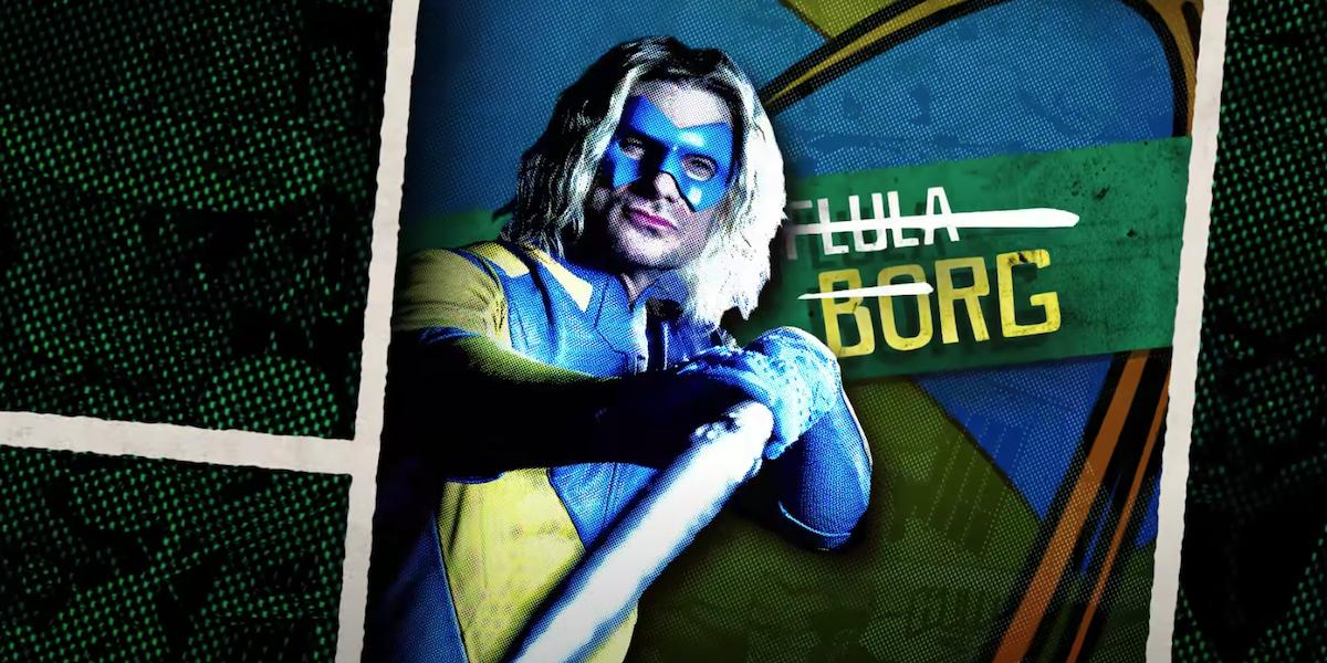 Borg's promotional shot